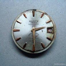 Recambios de relojes: MAQUINARIA RELOJ MULTY - PARA PIEZAS. Lote 56523030