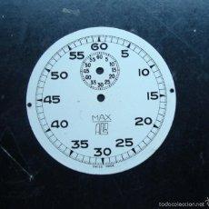 Recambios de relojes: RELOJERÍA, ANTIGUA ESFERA RELOJ - PARA PIEZAS. Lote 57199542