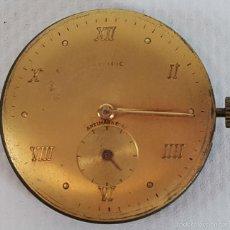 Recambios de relojes: RE377. MAQUINARIA DE RELOJ PARA CABALLERO. 15 RUBIS. OLYMPIC. SUIZA. CIRCA 1960. . Lote 57615484