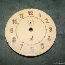 Recambios de relojes: 1 ANTIGUA ESFERA EN CHAPA JAZZ PARA EDSPERTADOR ANTIGUO - Nº 32- LOTE 28. Lote 57628336