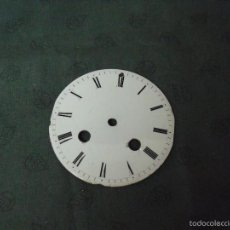 Recambios de relojes: ESFERA DE PORCELANA PARA MAQUINARIA PARIS-Nº 35-LOTE 30-BUEN ESTADO. Lote 57894022