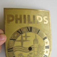 Recambios de relojes: FRONTAL ANTIGUO PARA RELOJ CON LOGO RADIO PHILIPS IDEAL RELOJERO O CREACIONES. Lote 58003694