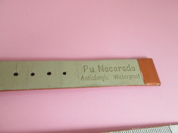 Recambios de relojes: *(100)*-CORREA RELOJ-PU NACARADO-16 MM-ANTIALERGIC-WATERPROOF-NUEVA-VER FOTOS. - Foto 7 - 58206471