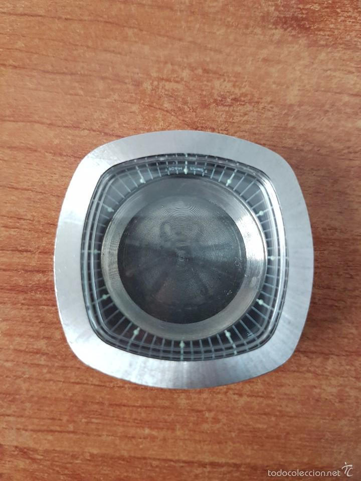 Recambios de relojes: Caja para reloj de caballero sin máquina en acero con tapa trasera, cristal nuevo y segunda mano - Foto 4 - 58266042
