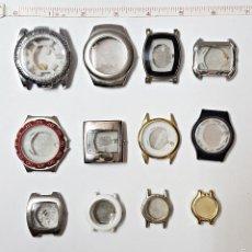 Recambios de relojes: LOTE DE 12 CAJAS DE RELOJES.. Lote 59536771