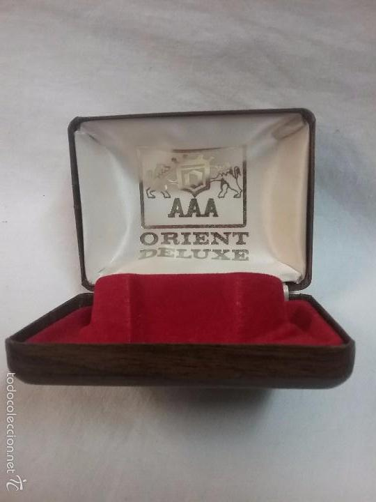 Recambios de relojes: CAJA VACIA DE RELOJ ANTIGUO ORIENT DELUXE AAA - Foto 2 - 60414099