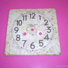 Recambios de relojes: ESFERA DE RELOJ DE PARED A RESTAURAR.VICENTE AVILA BENISA - JUNGHANS. Lote 61037819