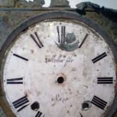 Recambios de relojes: FRONTAL POR RESTAUREAR RELOJ MOREZ MOLLIER FILLS SIGLO XIX. Lote 66190653