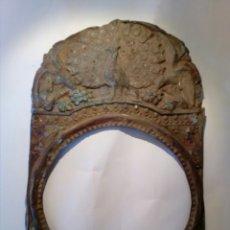 Frontal reloj Morez siglo XIX