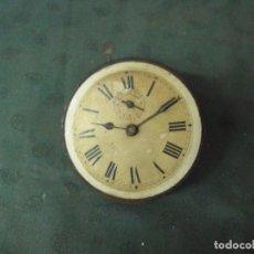 Recambios de relojes: ANTIGUA MAQUINARIA DESPERTADOR JAPY FRERES - ART NOUVEAU-MAQUINARIA DE VOLANTE- AÑO 1910- LOTE 40. Lote 66816134