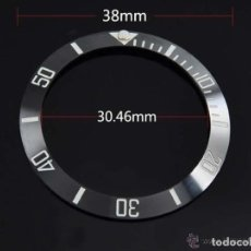 Recambios de relojes: F0025 -- INSER CERAMICO PARA ROLEX SUBMARINER MOD. 16800 -. Lote 68018321