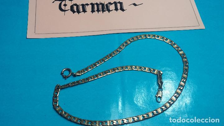 Recambios de relojes: Botita leontina o cadena dorada para reloj de bolsillo o para lo que se quiera - Foto 3 - 69725161