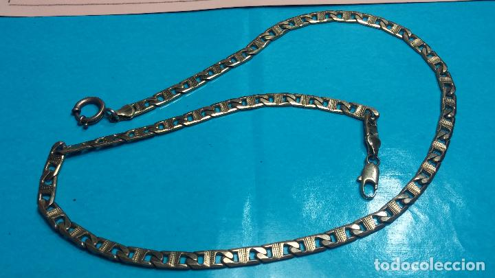 Recambios de relojes: Botita leontina o cadena dorada para reloj de bolsillo o para lo que se quiera - Foto 4 - 69725161