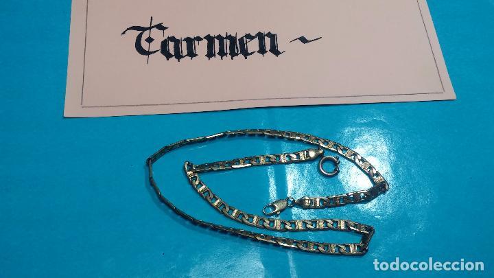 Recambios de relojes: Botita leontina o cadena dorada para reloj de bolsillo o para lo que se quiera - Foto 5 - 69725161