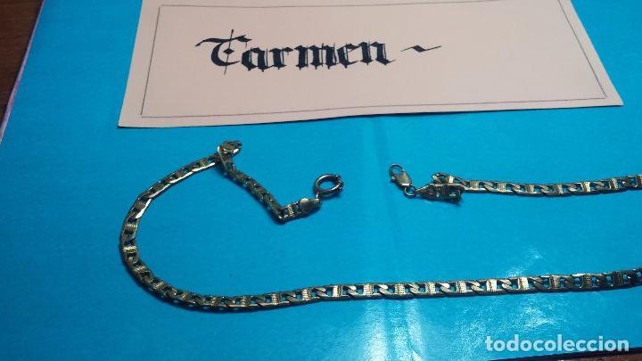 Recambios de relojes: Botita leontina o cadena dorada para reloj de bolsillo o para lo que se quiera - Foto 24 - 69725161