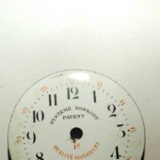Recambios de relojes: FRONTAL RELOJ SYSTEME ROSKOPF PATENT. Lote 69810578