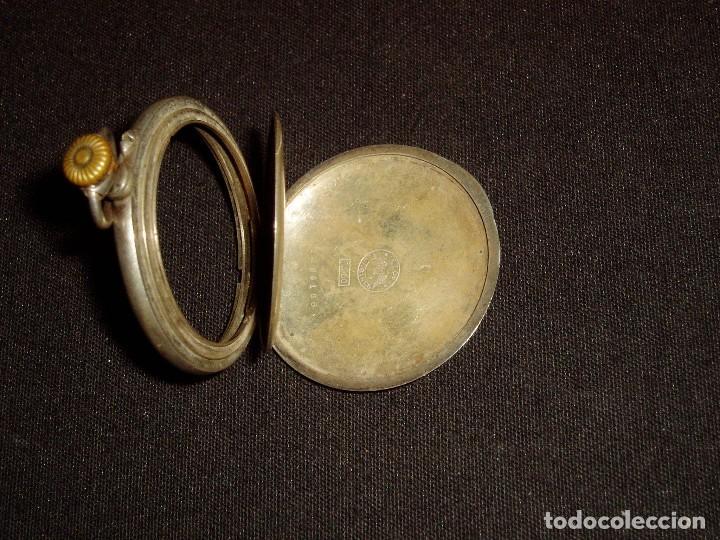 Recambios de relojes: Caja Reloj Longines en Plata - Foto 3 - 70021013