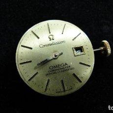 Recambios de relojes: MECANISMO SRA. OMEGA AUTOMATICO CHRONOMETRE OFFICIALLY CERTIFIED CONSTELLATION-CALENDAR. FUNCIONA. Lote 78173093