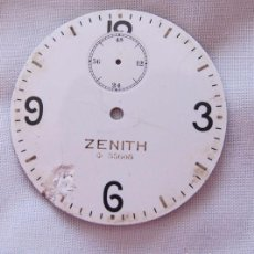 Recambios de relojes: ESFERA ZENITH PARA RELOJ DE BOLSILLO CRONOMETRO. Lote 79648869