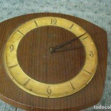 Recambios de relojes: ANTIGUO RELOJ DE COCINA ALEMAN SCHAUB DE CADENAS PARA RESTAURAR- LOTE 43. Lote 79967933