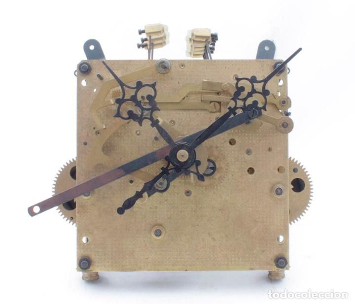 Maquina De Reloj De Pared Carrillon De Pesas Comprar Recambios De Relojes En Todocoleccion 79978281