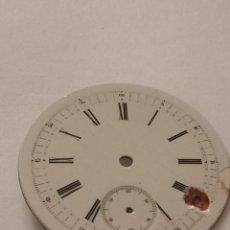 Recambios de relojes: ESFERA BLANCA DE RELOJ PARA REPARAR DE 4,59 CM DE DIÁMETRO. Lote 80812403