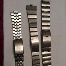 Recambios de relojes: PULSERAS PARA RELOJES. Lote 80843968