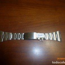 Recambios de relojes: CORREA RELOJ AÑOS 70. METÁLICA. 30MM. DE STOCK DE RELOJERIA.. Lote 80914188