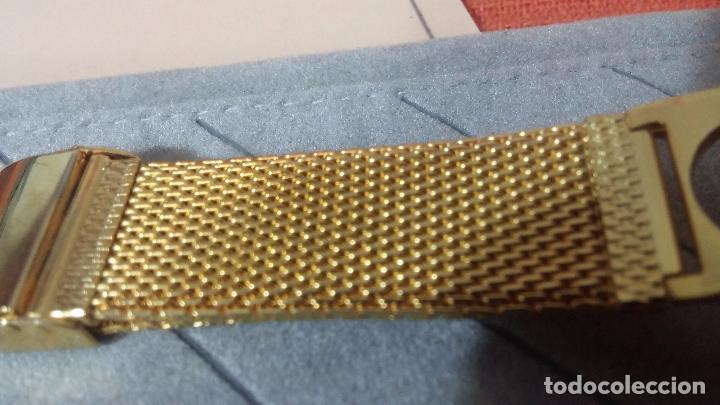 Recambios de relojes: Botito armis dorado estilo drivers, va desde 20mm a 15, stok de relojería antigua bien conservado - Foto 3 - 82138956