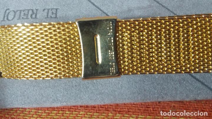 Recambios de relojes: Botito armis dorado estilo drivers, va desde 20mm a 15, stok de relojería antigua bien conservado - Foto 8 - 82138956