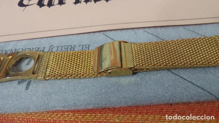 Recambios de relojes: Botito armis dorado estilo drivers, va desde 20mm a 15, stok de relojería antigua bien conservado - Foto 15 - 82138956