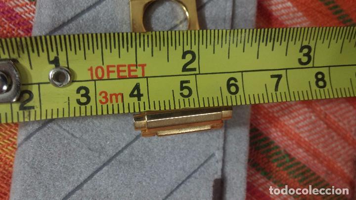 Recambios de relojes: Botito armis dorado estilo drivers, va desde 20mm a 15, stok de relojería antigua bien conservado - Foto 17 - 82138956