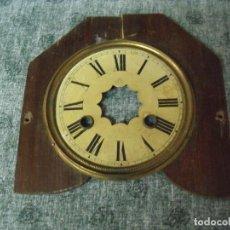 Recambios de relojes: ESFERA PARA DESPERTADOR-ART-NOUVEAU- AÑO 1910- LOTE 45. Lote 82728928
