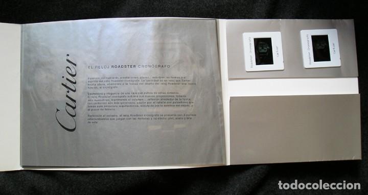 Recambios de relojes: Cartier Roadster Cronógrafo - carpeta presentación - Foto 2 - 132434355