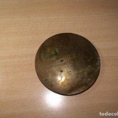 Recambios de relojes: ANTIGUA LENTEJA PARA RELOJ MOREZ DE PESAS AÑO 1860- 13,5 CM DIAMETRO. Lote 83805464
