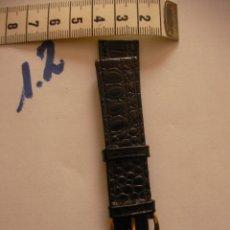 Recambios de relojes: ANTIGUA CORREA PARA RELOJ - ENVIO INCLUIDO A ESPAÑA. Lote 86315780