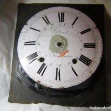 Recambios de relojes: ESFERA PARA RELOJ MOREZ PARA RESTAURAR. Lote 164681626