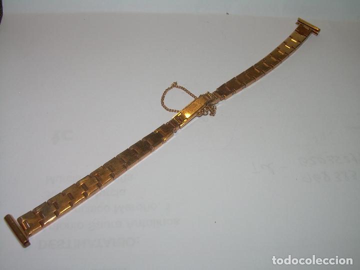 Recambios de relojes: ANTIGUA CADENA PARA RELOJ...CHAPADA EN ORO. - Foto 2 - 88388540