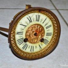 Recambios de relojes: ANTIGUA MAQUINARIA PARIS CON LOS RESORTES EN BUEN ESTADO AÑO 1878- LOTE 49. Lote 89006968