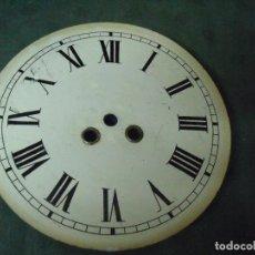 Recambios de relojes: ANTIGUA ESFERA DE CHAPA PARA OJO BUEY -- - AÑO 1880- Nº 4. Lote 89299740