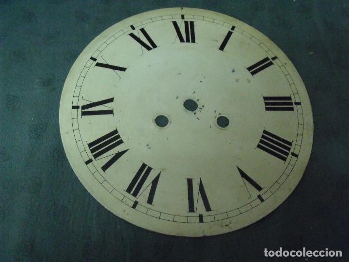 ANTIGUA ESFERA DE CHAPA PARA OJO BUEY -- - AÑO 1880- Nº 7 (Relojes - Recambios)