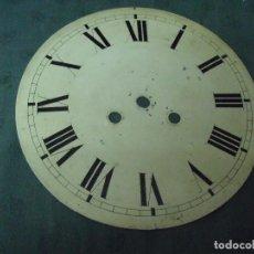 Recambios de relojes: ANTIGUA ESFERA DE CHAPA PARA OJO BUEY -- - AÑO 1880- Nº 7. Lote 89301496