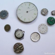 Recambios de relojes: LOTE RELOJES VARIAS PIEZAS MAQUINARIA RELOJ. Lote 89449280