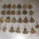 Recambios de relojes: ¡¡ GRANDISIMA OFERTA!!! 25 TAMBORES ANTIGUOS PARA RELOJ MOREZ PESAS-AÑO 1850-80-LOTE 54. Lote 90528435