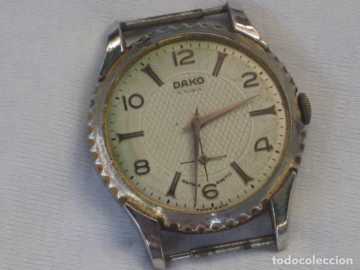Recambios de relojes: Lote de 5 relojes antiguos Suizos para restaurar o piezas - Foto 2 - 93289795