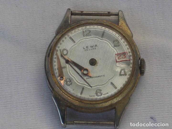 Recambios de relojes: Lote de 5 relojes antiguos Suizos para restaurar o piezas - Foto 3 - 93289795