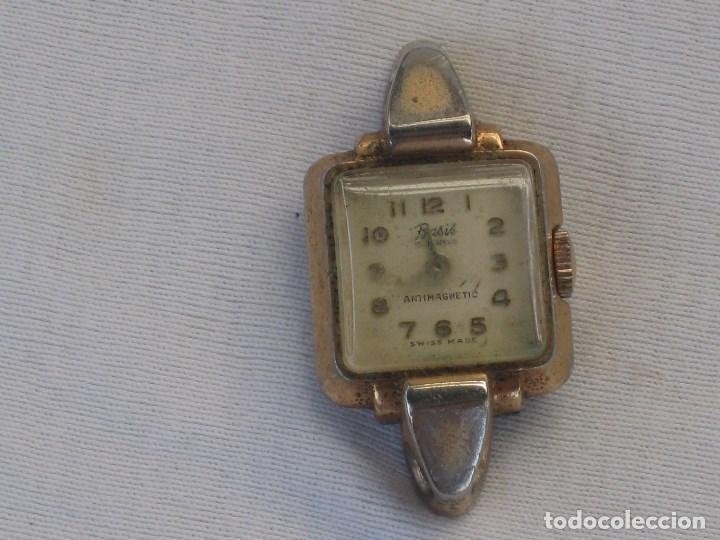 Recambios de relojes: Lote de 5 relojes antiguos Suizos para restaurar o piezas - Foto 4 - 93289795