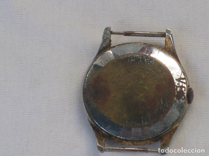 Recambios de relojes: Lote de 5 relojes antiguos Suizos para restaurar o piezas - Foto 10 - 93289795