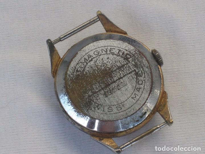 Recambios de relojes: Lote de 5 relojes antiguos Suizos para restaurar o piezas - Foto 11 - 93289795