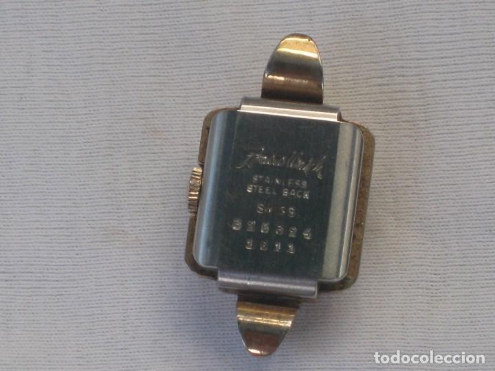 Recambios de relojes: Lote de 5 relojes antiguos Suizos para restaurar o piezas - Foto 12 - 93289795